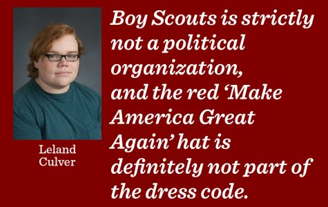 Trump supporters thwart Boy Scout ethics at camp