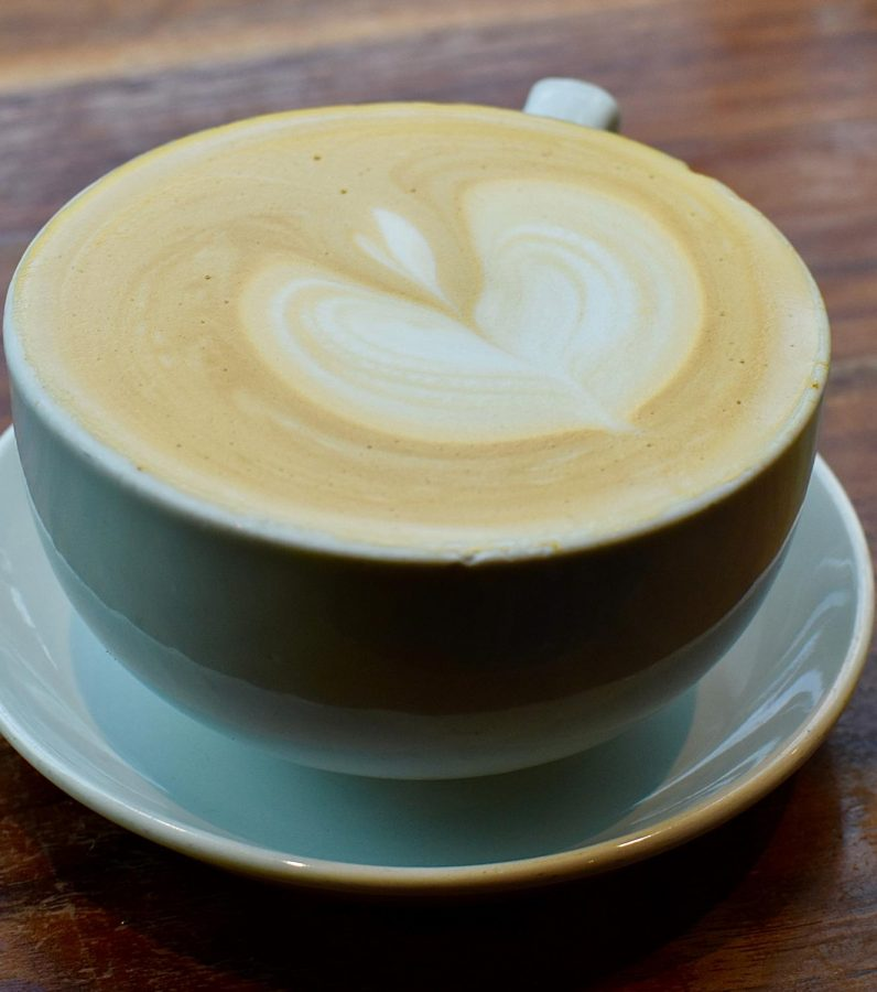 CREAMY EXCELLENCE. Plein Air Cafe, 5751 S. Woodlawn Ave., offers a variety of excellent coffee.