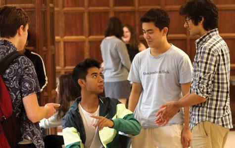 Mentor program helps new students adjust