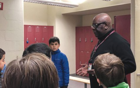 Boys locker room attendant a familiar, friendly face