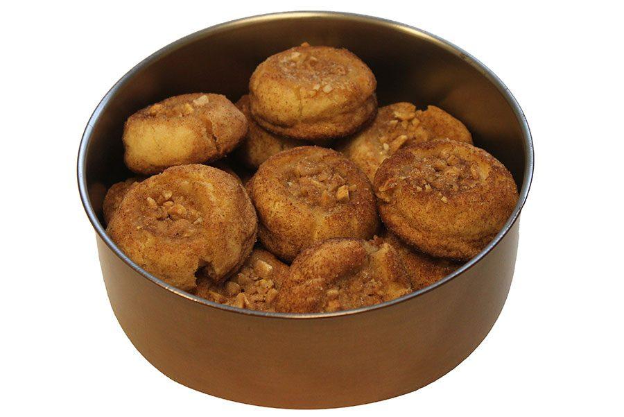 First Place: Daniel Jones' Baklava Fingerprint Cookies