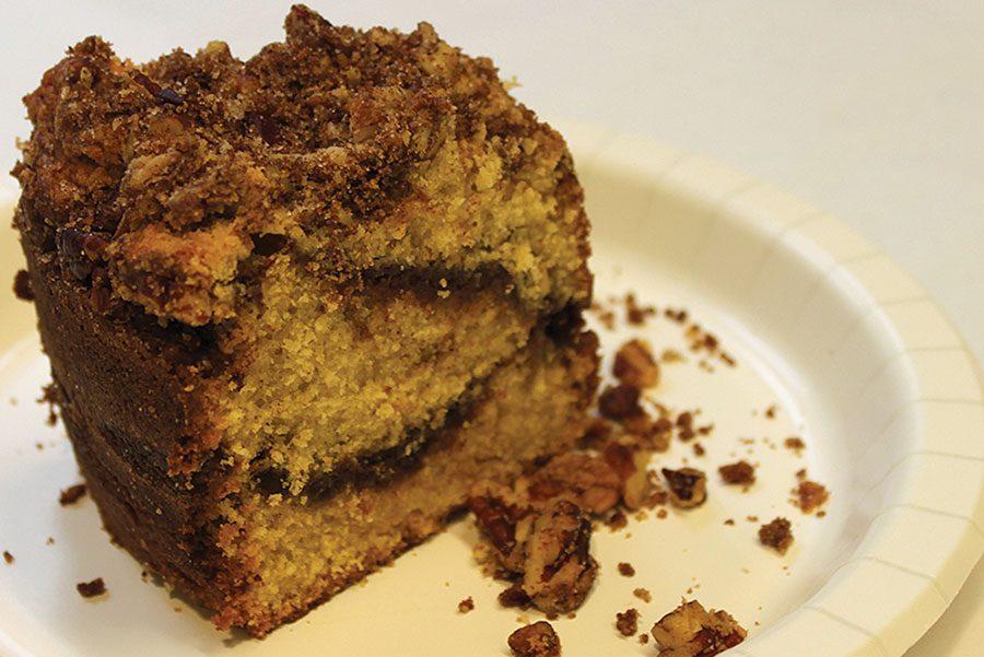 Patty Kovacs' coffee cake