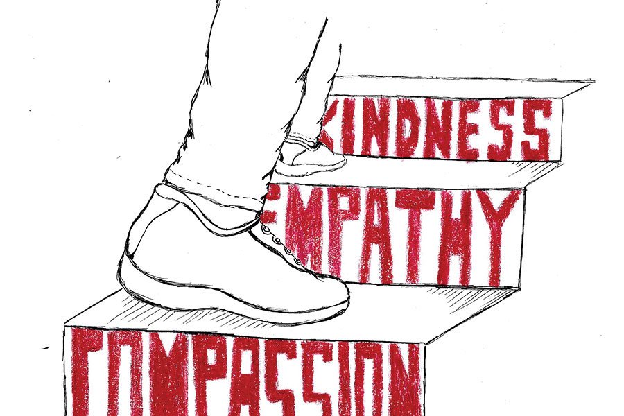 Students need to commit to kindness, empathy and compassion.