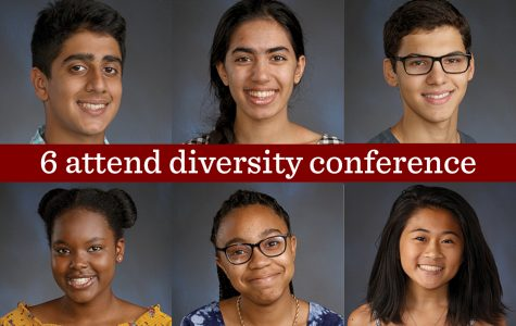 Six U-High students attend annual diversity conference