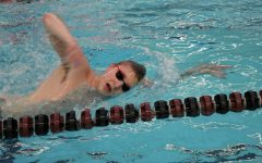 Swimmer Mitch Walker will compete at State meet today