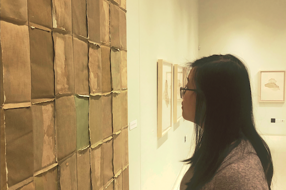 PONDERING. Olivia Pon looks at Samuel Levi Jones' artwork
