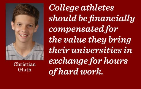 Colleges need to pay athletes for their commitment