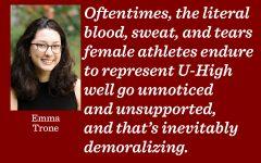Female athletes deserve equal recognition