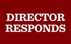 Director responds to no confidence vote