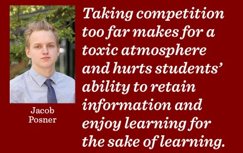 Teach passion for learning, not toxic competition