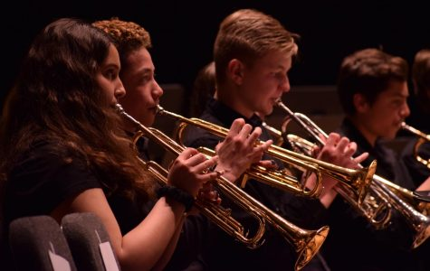 Middle school and U-High band perform challenging program