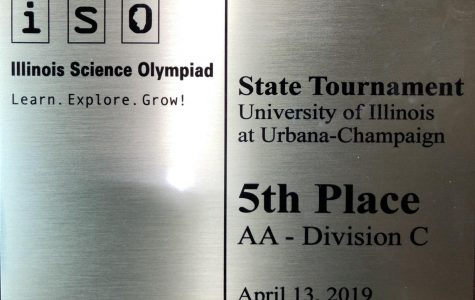 Science Olympiad places fifth at state competition