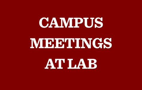 Lab to host campus redesign meetings