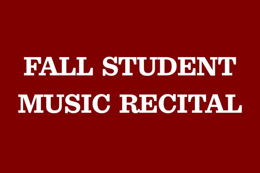 Fall+recital+to+showcase+classical+musicians
