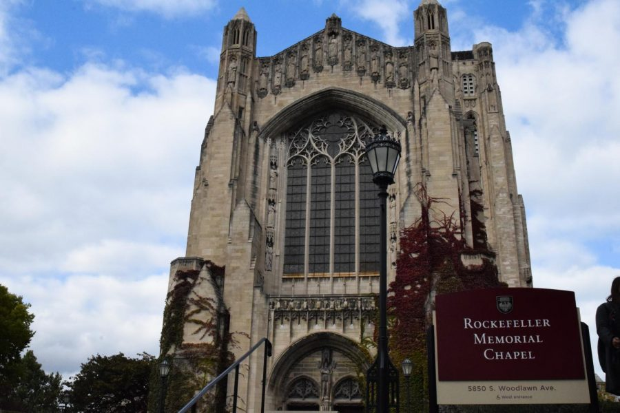 The relocation and reunification drill Oct. 10 evacuated the entire historic campus to Rockefeller Chapel.
