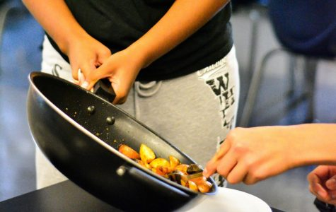 New club meets to cook and discuss diverse foods