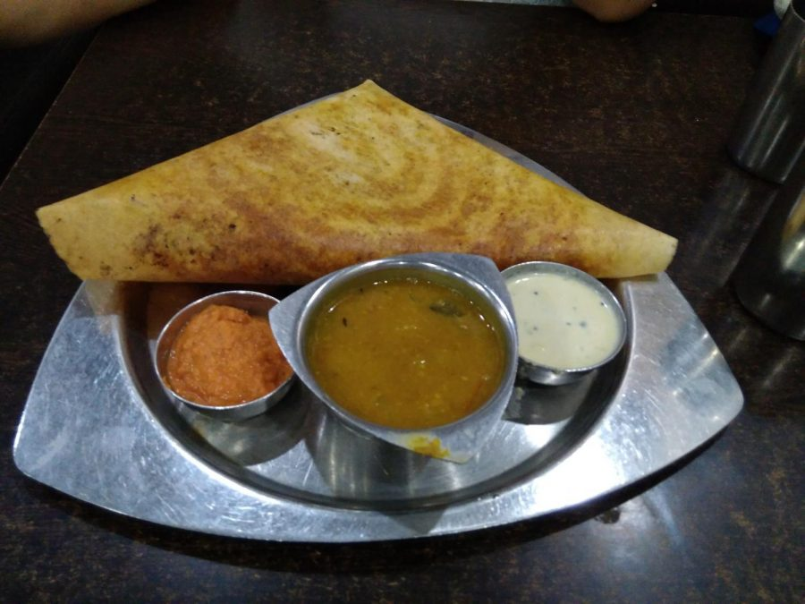 This is a Dosa, a South Indian food which will be offered at the Desi Dance Party Nov. 7.