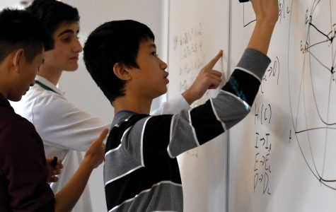 No easy answers: Math Team bonds over complicated problems