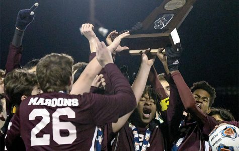 Boys soccer team places first at state