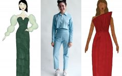 Student fashion designer makes it work