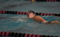 Girls swimming finishes strong season