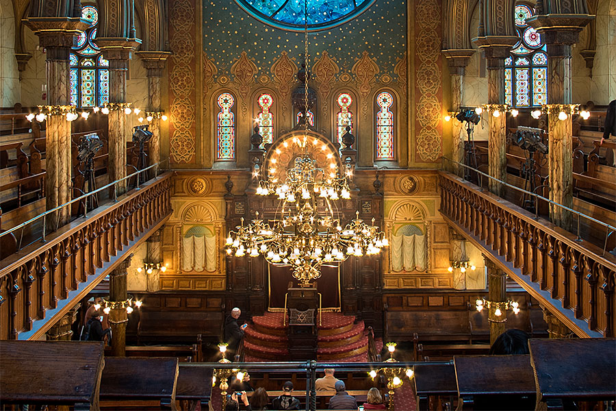 Above%2C+the+interior+of+the+Eldridge+Street+Synagogue+in+New+York+City.+Synagogues+and+other+places+where+Jewish+people+gather+for+worship+and+fellowship+have+recently+become+the+targets+of+anti-Semitic+attacks.