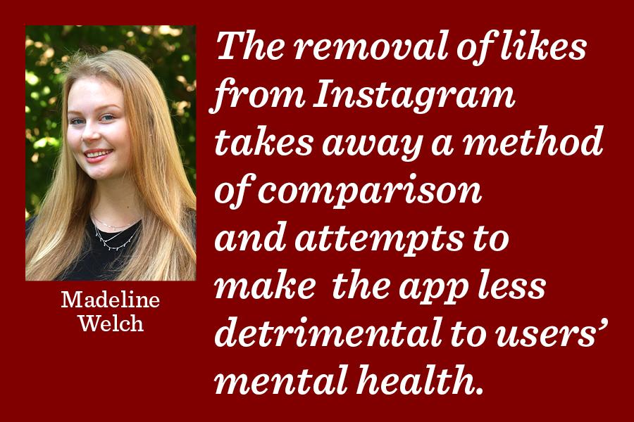 Instagram hiding 'likes' limits online comparison