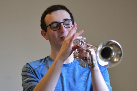 MUSIC MAN: Pure passion spurs senior's love for music