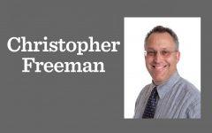 Christopher Freeman, middle school math teacher, has died