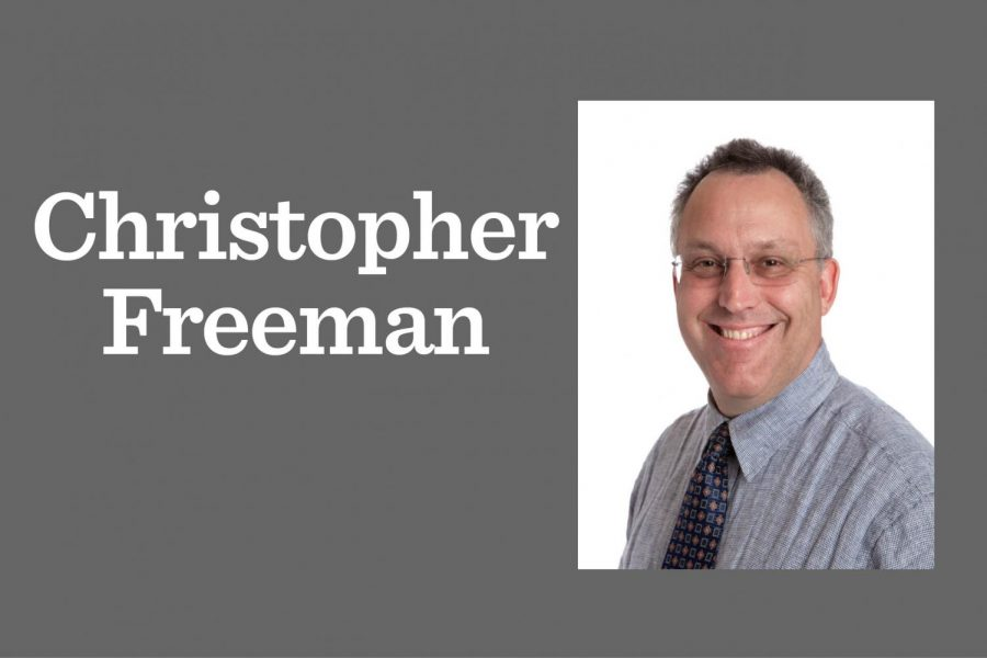 Christopher Freeman, middle school math teacher, has died