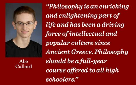 Philosophy should be offered at Lab