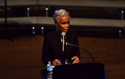 Pioneering journalist of color speaks about her career