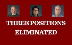 Reorganization plan eliminates three jobs