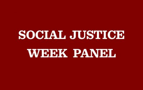 Social Justice Week committee to host panels with faculty