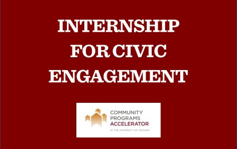 Applications open for the summer Internship for Civic Engagement
