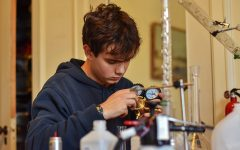Senior enjoys creating complex engineering projects