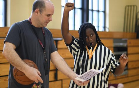 Refereeing done right: Student, teacher collaborate over calling signals