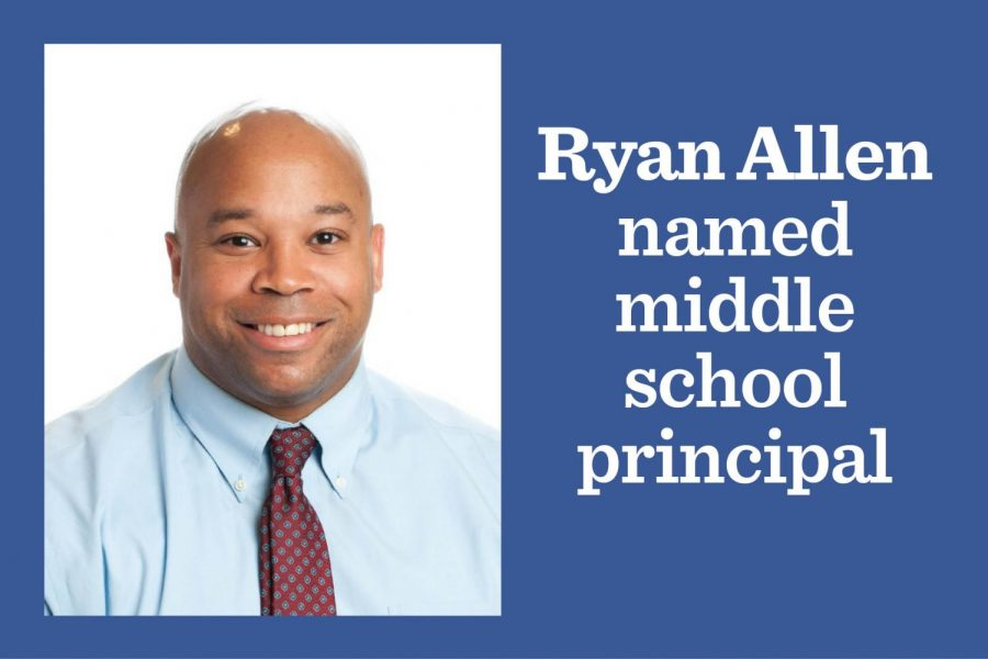 Ryan Allen named Middle School principal