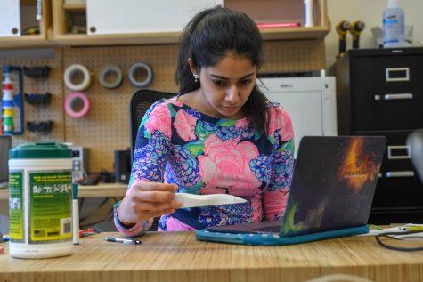 Junior working to create engineering club in Makerspace