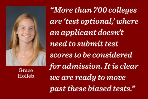 Standardized testing, it's time to go