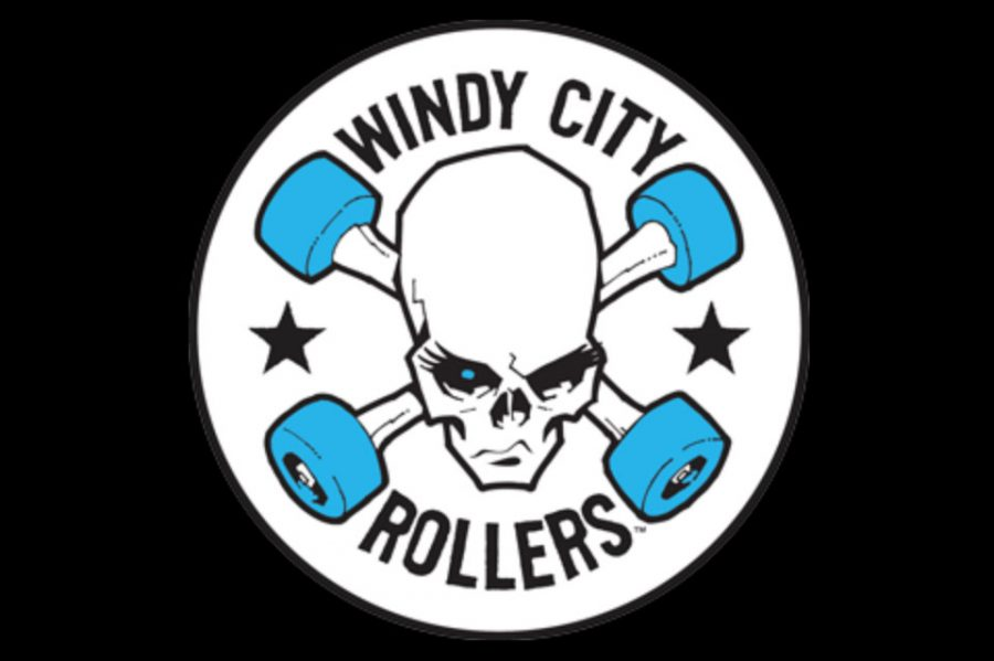 The+Windy+City+Rollers+is+one+of+the+top+roller+derby+teams+in+Chicago.+In+roller+derby%2C+five+players+from+a+team+attempt+to+make+one+player+%28the+%22jammer%22%29+pass+the+opposing+team%27s+jammer+as+many+times+as+possible+as+they+skate+around+the+rink.