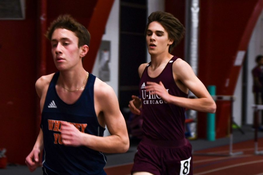 Photo: Gideon Mitchell competes at Midway Miles