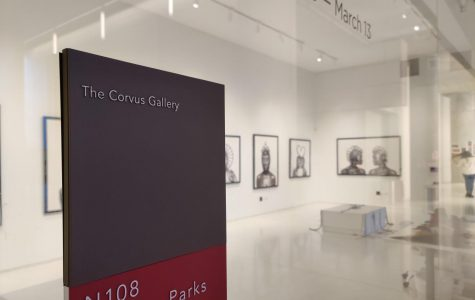 The Corvus Gallery in the Gordon Parks Arts Hall now houses Shani Crowe's Braids collection. It will switch to the Senior art showcase in April and stay that way until the end of the school year.