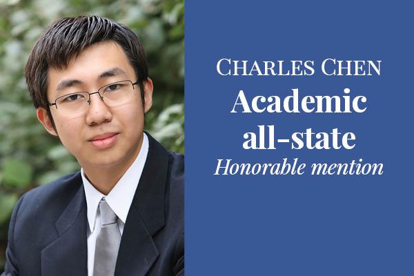 Charles Chen wins IHSA academic honor