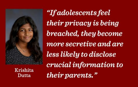 Parents should respect student privacy to build trust
