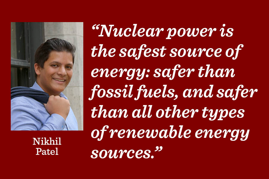 Nuclear energy is our best option
