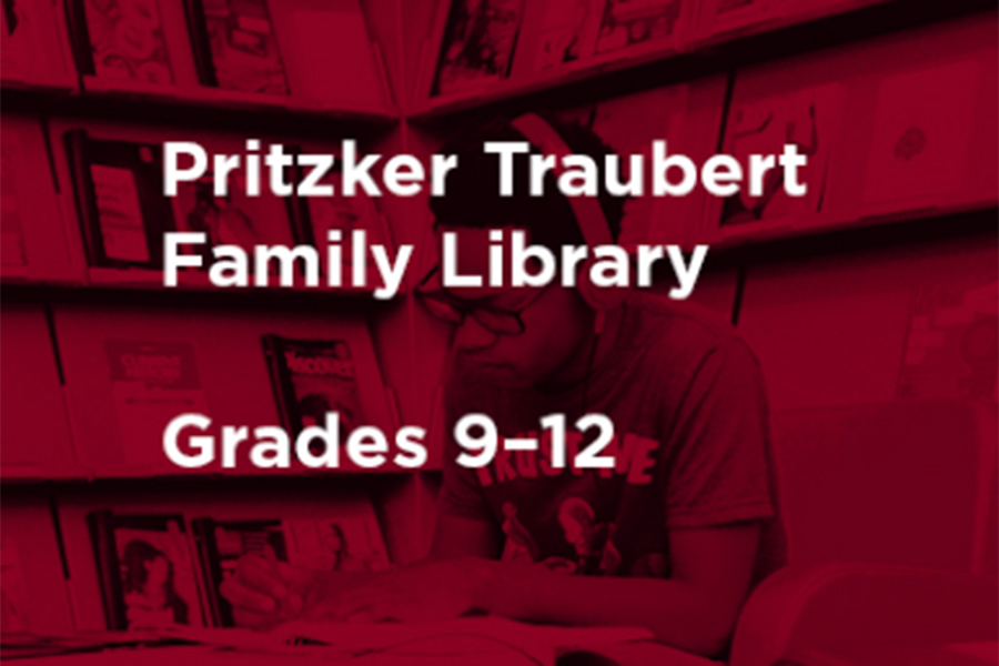 The Pritzker Traubert Family Library will be providing free e-books for students.