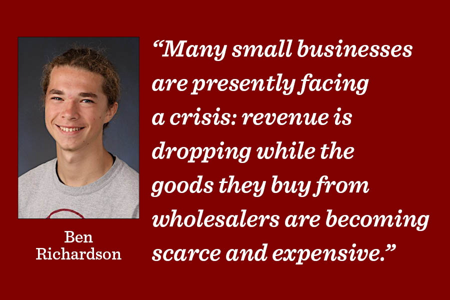 Especially through the pandemic, its important to support small local businesses.