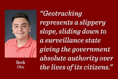 Americans should reject geotracking at its early stages, before its too late.