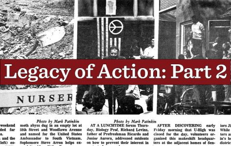 The legacy of the Kent State shooting left its mark on the Laboratory Schools through the U-High Midway, which published several articles about the tragedy and its effects.